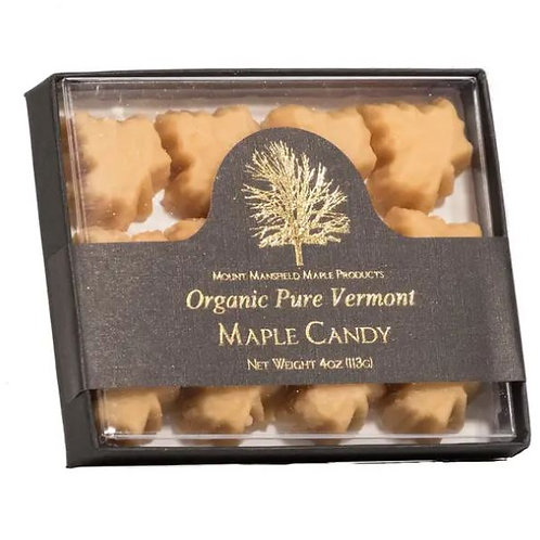 Quarter Pound Box - Organic Pure Maple Sugar Candy