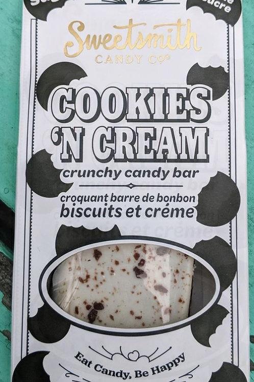 Cookie 'n Cream (Keto) Brittle