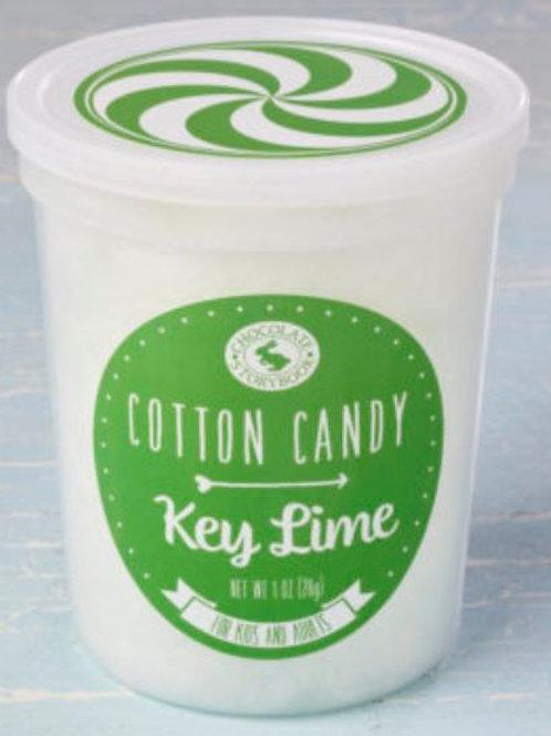 Key Lime  Cotton Candy 1.75 oz Tub