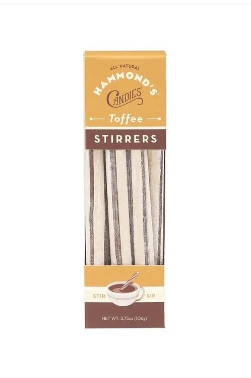 Natural Toffee Cocoa Stirrers
