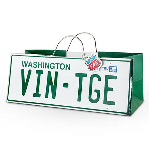 Washington License Plate Gift bag