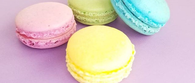Solid Color Custom Macarons 24 pk