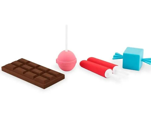 Sweet Treats Ice Mold Gift Set Safe Silicone