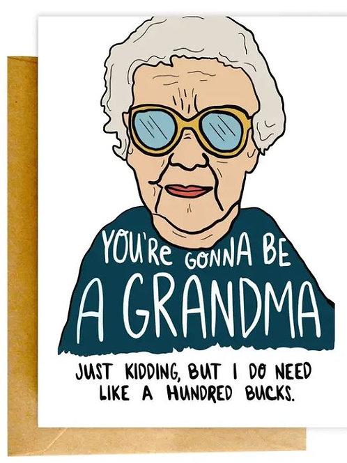 Grandma Color Envelope Card