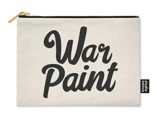 War Paint Canvas Case Bag