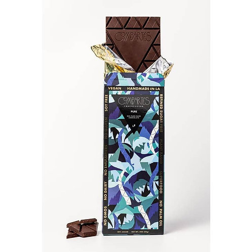 Vegan Organic Dark Chocolate 80% Pure Cocoa - Pure