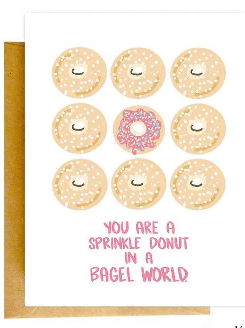 Sprinkle Donut Color Envelope Card