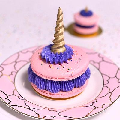 Unicorn Macaron Cake