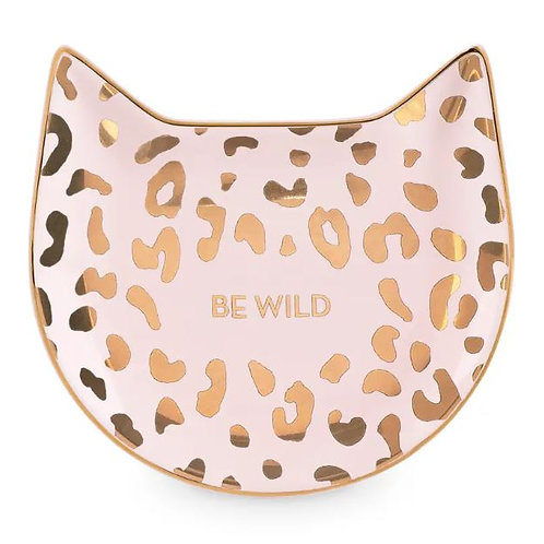 Pink Leopard Tea Tray