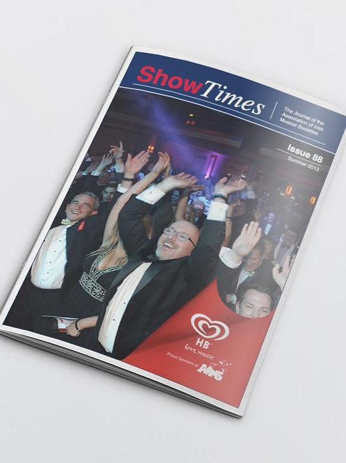 Showtimes subscription