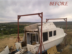 Houseboat Before