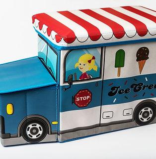 ארגז צעצועים אוטובוס