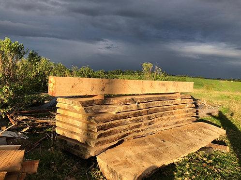 Wood Slabs and Beams