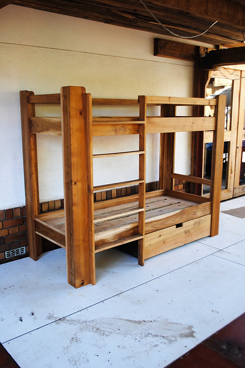 Bunk Bed - Blackwood
