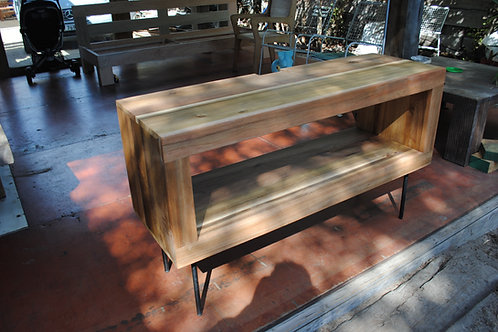 TV unit with Steel legs