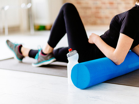 Foam rolling in Lockdown, Written by Dilani Warnakula, Physiotherapist
