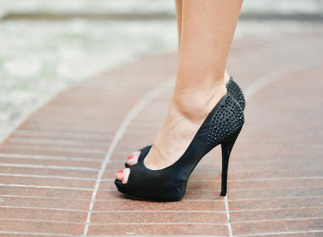 Fashions on the field: High heels & your feet