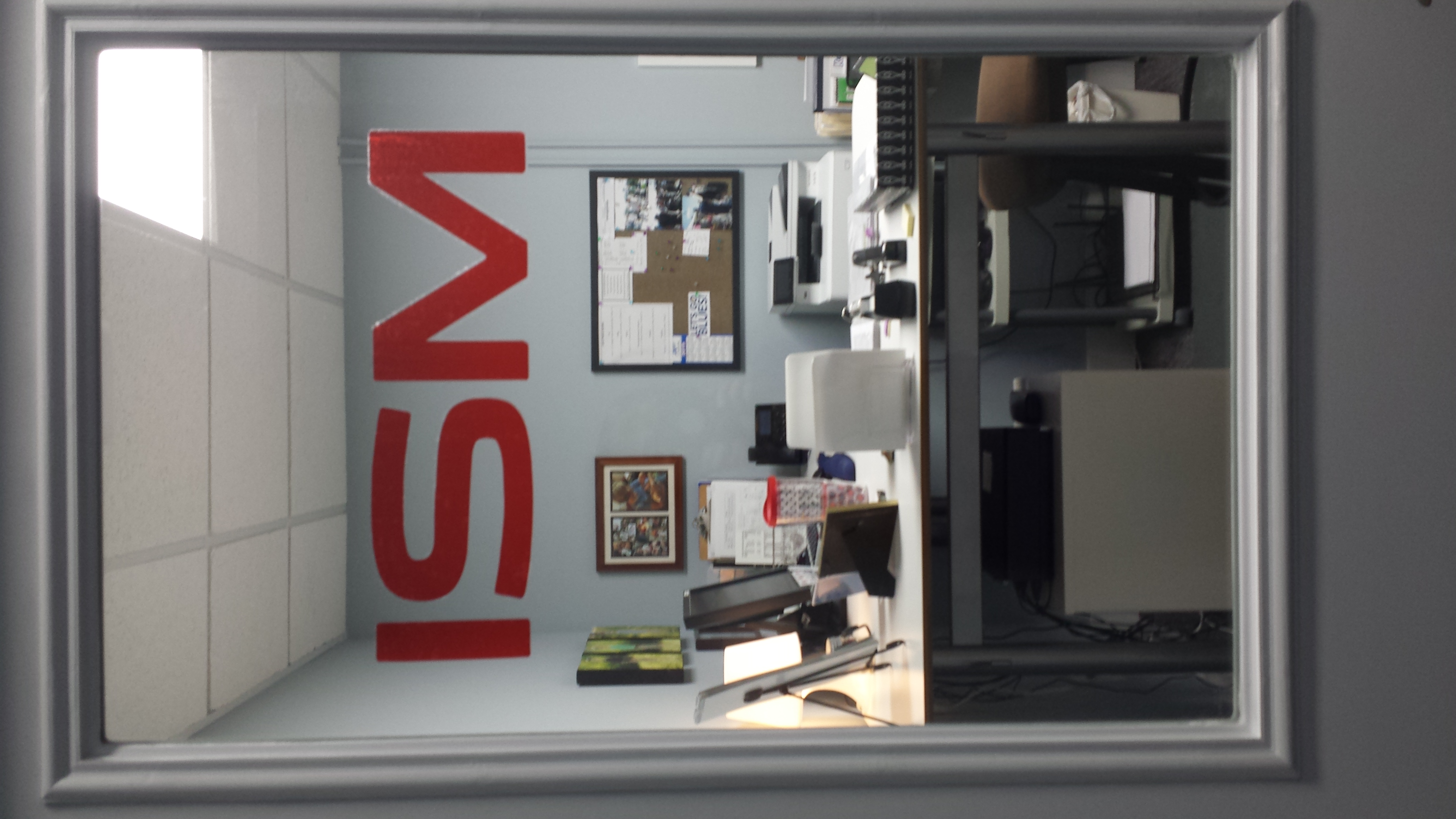 ISM sign