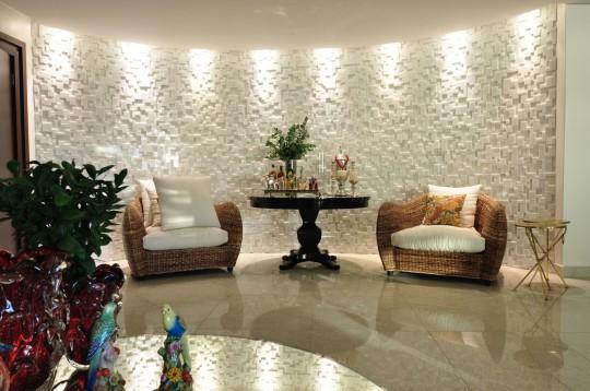 Mosaico de Marmore Branco Mimoso