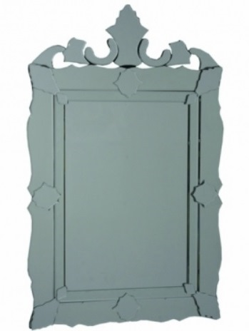 28 Espelho Veneziano retangular