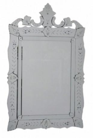 25 Espelho Veneziano retangular