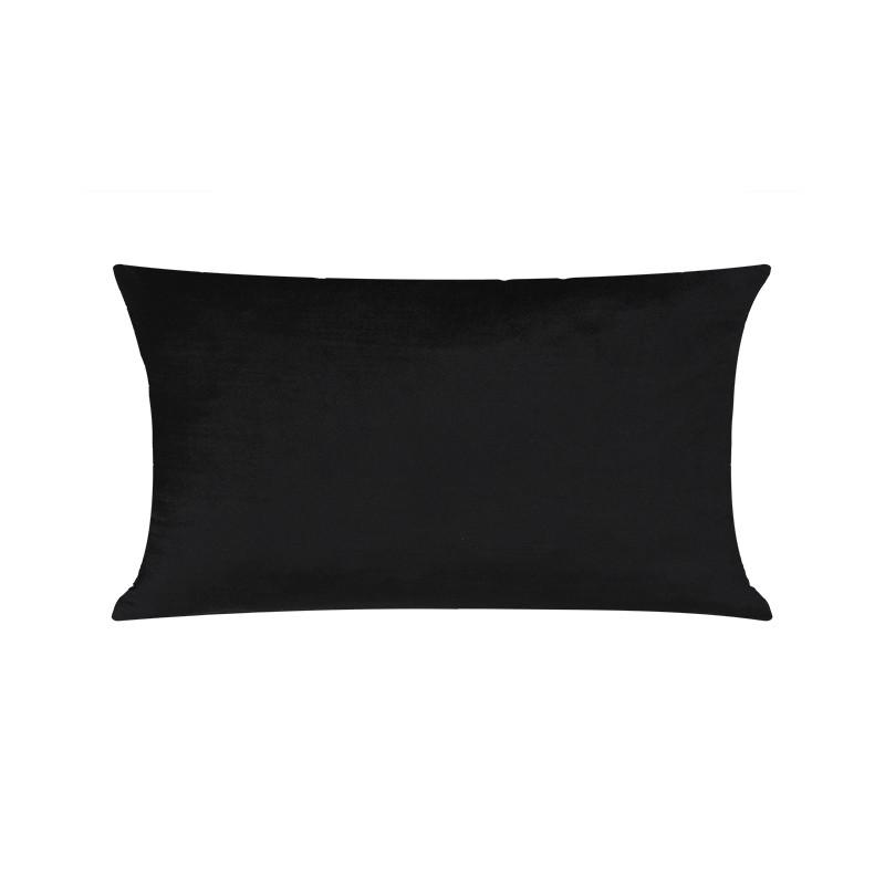 T7RK Almofada Velvet Bambu - Black