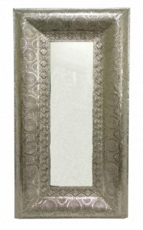 1 Espelho de Metal rendado