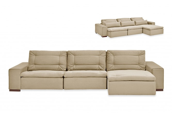 SKGL Sofa Retratil Bruce