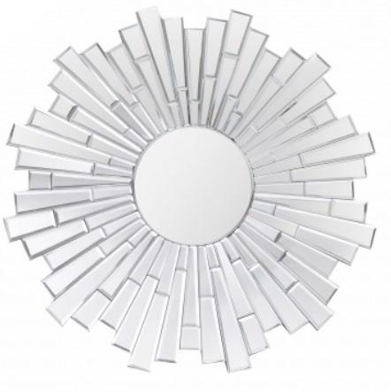 8 Espelho Bisotado Design de Sol