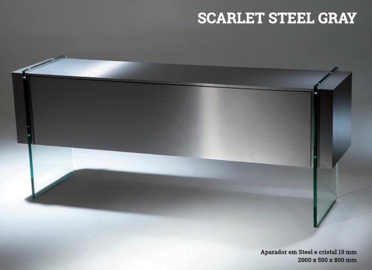 Aparador SCARLET Steel Gray