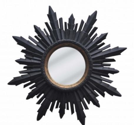 11 Espelho decorativo de Madeira