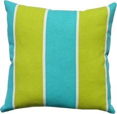 T7RK Almofada Odl Cabana Stripe - Turquoise