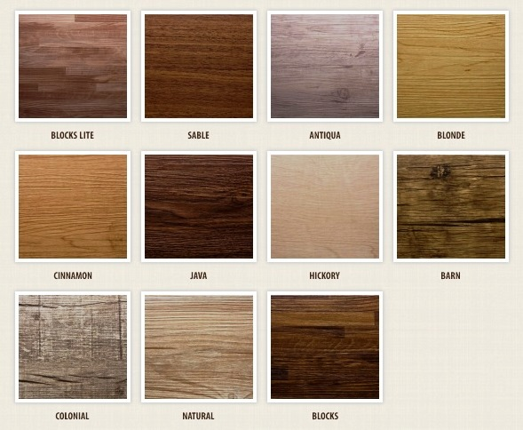Piso de PVC Wood Planks