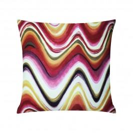 T7RK Almofada Watercolor Wave - Warm