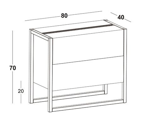 MINI BAR WINTER_L 80 x P 40 x H 70 cm (2)