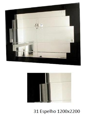 3PC31_Espelho Decorativo aplicado em madeira