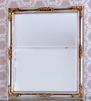 3PC126 Espelho Retangular com folha