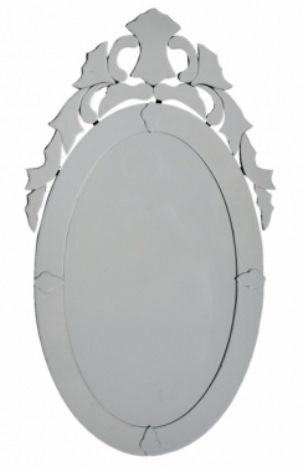 12 Espelho Veneziano oval