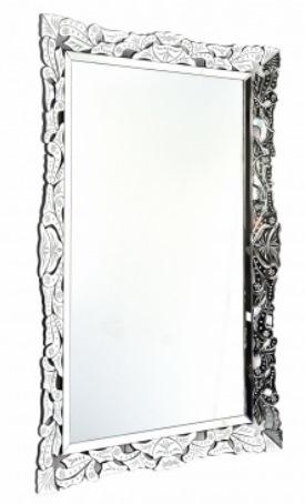 3 Espelho decorativo retangular