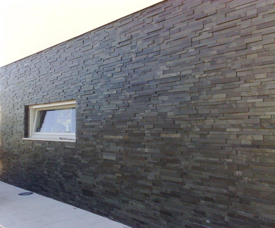 Mosaico Pedra Ferro Preta