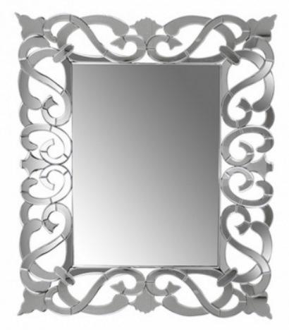 4 Espelho decorativo retangular