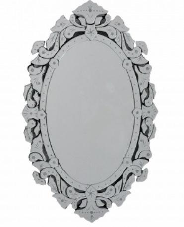33 Espelho Veneziano oval