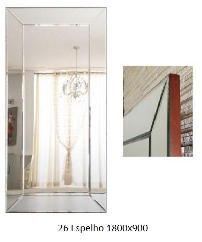 3PC26_Espelho Bisotado e Chanfrado