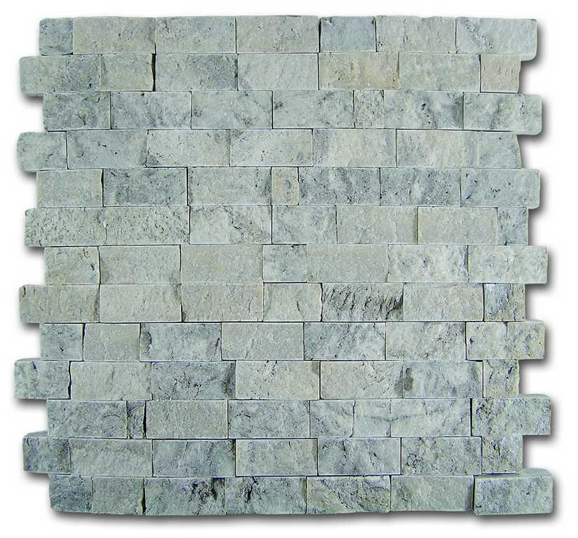 DUNE mosaico travertino silver s