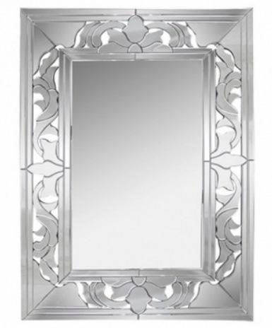 2 Espelho decorativo retangular