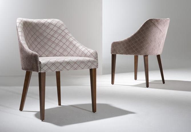 Cadeira AIKO - 2 tecidos