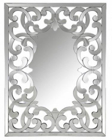 7 Espelho decorativo retangular