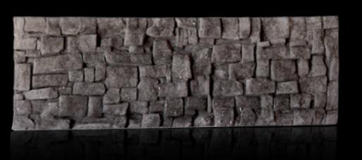 linha steno - mosaico carvao