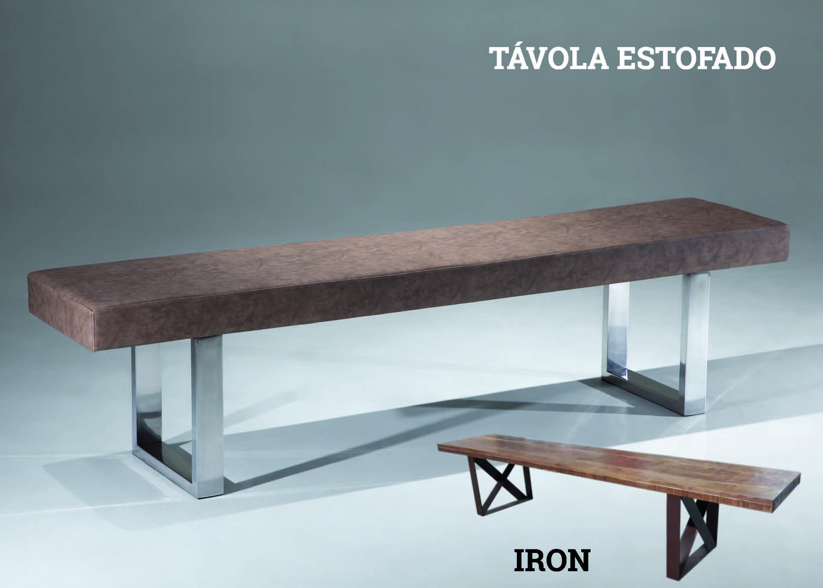 Banco Tavola Estofado e Iron