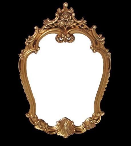 Espelho Clássico em Resina 23